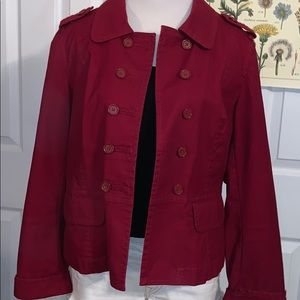 Ann Taylor Loft Blazer Double Breasted